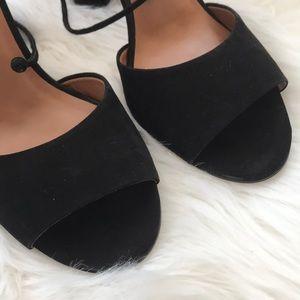 Steve Madden Shoes - Steve Madden black faux suede heels